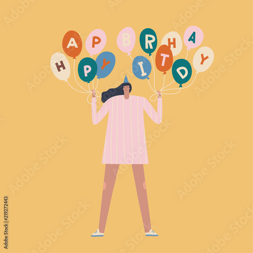 Birthday Card With Women