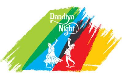 celebrate navratri festival poster design
