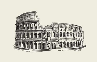 Colosseum in Rome Fototapete