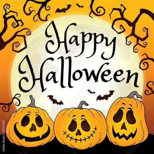 Happy Halloween composition image 2\