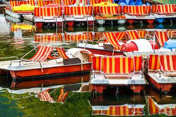 old pedal boats