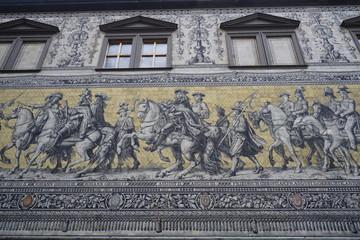 Fürstenzug in Dresden
