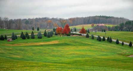 Woodstock  / The field where the Woodstock Rock Festival was held in 1969