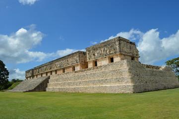 Maya-Stätte Uxmal Gouverneurspalast 2; Mexiko