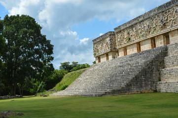Maya-Stätte Uxmal Gouverneurspalast 1; Mexiko
