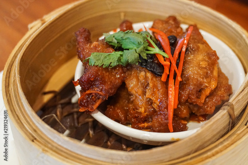 Chinese Chicken Feet Dim Sum Stock Photo And Royalty Free Images On
