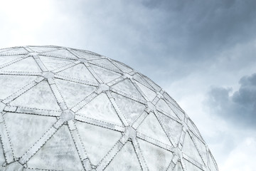 geodesic sphere dome architecture construction design