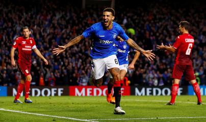 Europa League - Play-Off First Leg - Rangers v FC Ufa