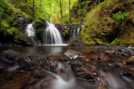 Emeral Falls along Gorton Creek