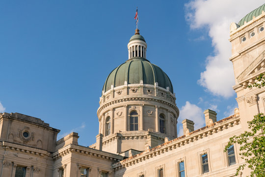 Dome of the Indiana Capital Building