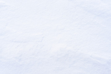 Texture of snow, winter background, copyspace for text overlay