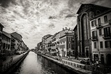 Foto auf Leinwand Milan milan