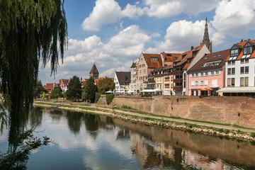ulm historic city Baden-Wuerttemberg germany