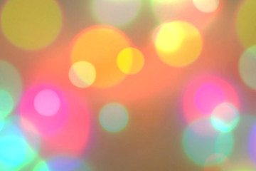 blurred light bokeh colorful bright background, wallpaper bokeh soft light color