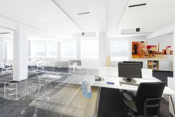 Büroeinrichtung (Projektierung)
