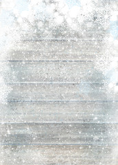 Background for holiday,  winter design. Grey wooden texture  background. Christmas background.