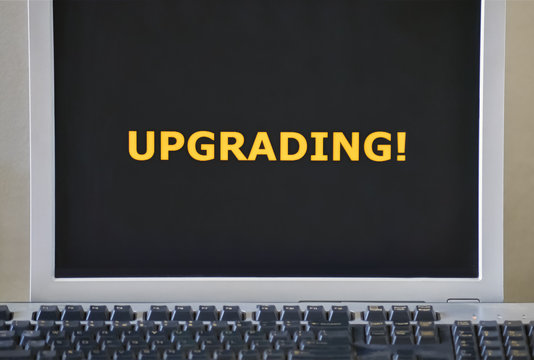 Word Upgrading on the screen