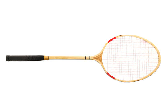One racket, badminton.