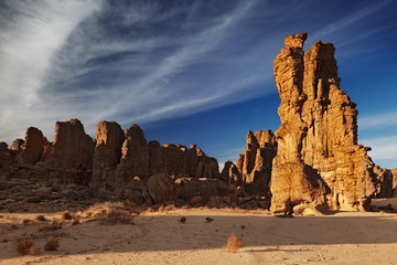 Wall Mural - Sahara Desert, Tassili N'Ajjer, Algeria