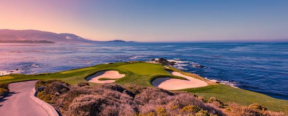 Foto op Aluminium Golf Pebble Beach golf course, Monterey, California, USA
