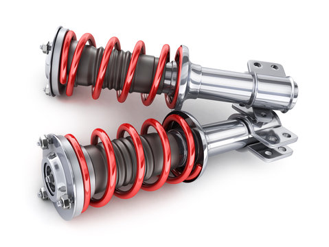 Two shock absorber, car part