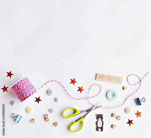 Background For Handmade And Craft Ideas Stock Photo And Royalty