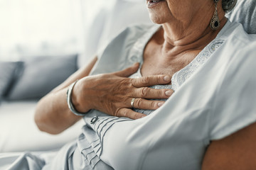 Female with chest pain