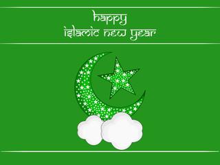 Illustration of Islamic New Year background
