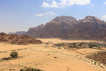 Wadi Rum bedouin village, Jordan