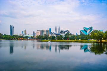 Foto op Aluminium Kuala Lumpur Kuala Lumpur Lake Park