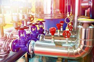 Equipment of bread plant conveyor food processing industry