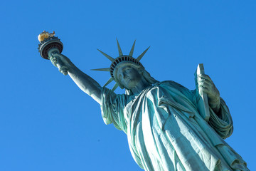 Freiheitsstatue (Statue of Liberty) in New York City