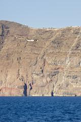 Santorini Cliffs And Chapel