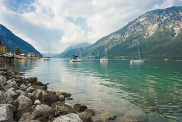Segelboote auf dem Achensee
