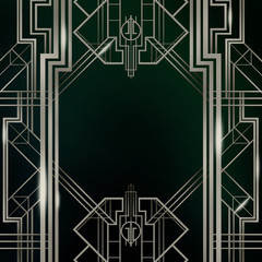 Great Gatsby Art Deco Background Texture Collection
