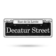 New Orleans Street Signs French Quarter Street Name Collection