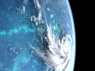 Hurricane Lane in Pacific