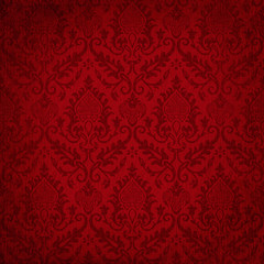 Louisiana Life New Orleans Culture Parchment Damask Wallpaper Background