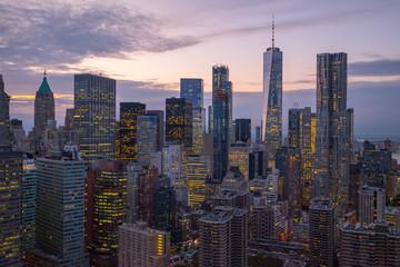 Above Manhattan