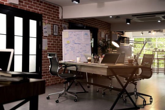 Interior of a modern office ( co working space )