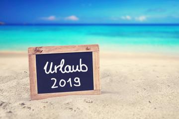 Urlaubsplanung 2019