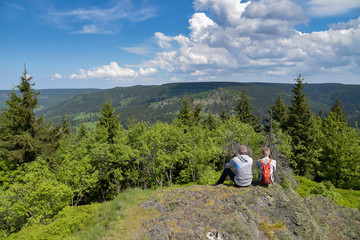 Wandern am Ruppberg / Thüringer Wald