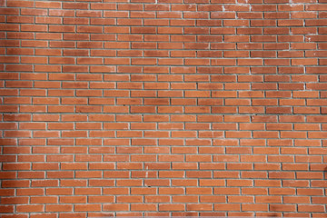 Red brick background with salt selection