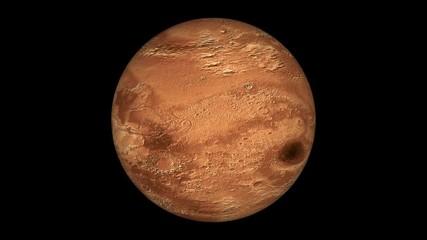Wall Mural - Марс полный alpha