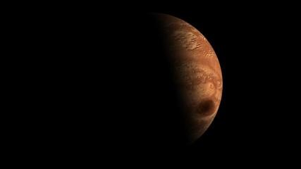 Wall Mural - Марс 1/4 alpha