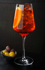 Refreshing Italian Aperitivo Spritz Cocktail
