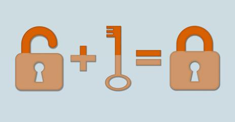 замки и ключ