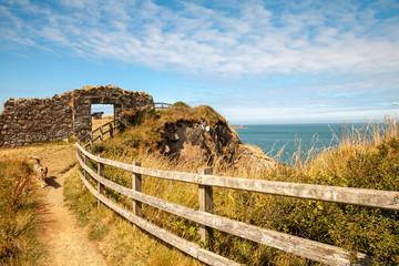 Wales Coast Path Fishguard Coastline Landscape  Nature Travel UK