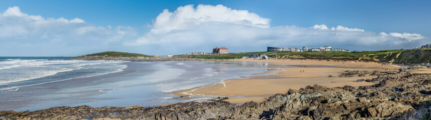Fleeting Clouds, Fistral Beach, Newquay, Cornwall