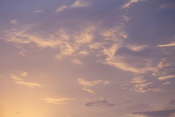 beautiful sky gradient quiet calm heaven nature background
